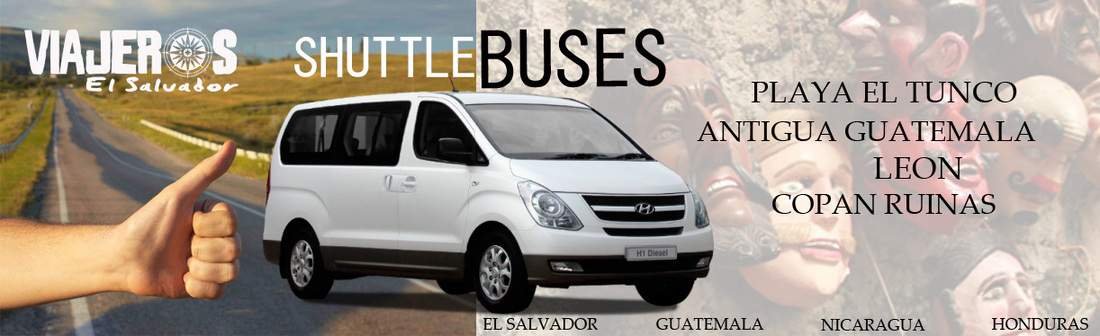 SHUTTLE BUS EL SALVADOR
